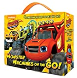 Monster Machines on the Go! (Blaze and the Monster Machines): 4 Board Books