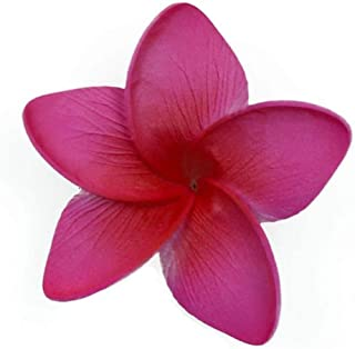 Hawaii Luau Party Dance Artificial Foam Plumeria Hair Clip