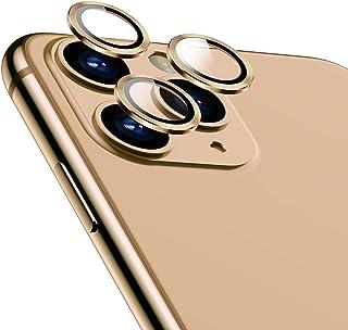 TAMOWA Skottsäkert kameraskyddskydd för iPhone 11 Pro/iPhone 11 Pro Max, aluminiumlegering 360 graders skydd bakkamera lin...