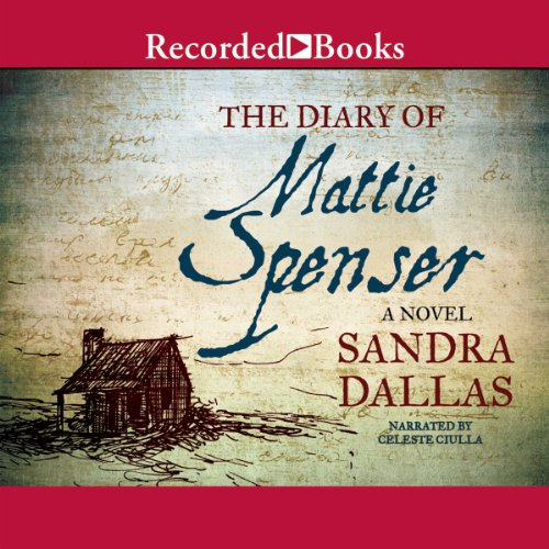 The Diary of Mattie Spenser audiobook cover art