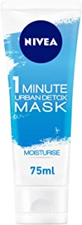 NIVEA, Face Mask, Essentials, 1 Minute Urban Skin Detox Mask, Moisturise, 75ml