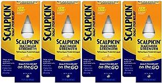 Scalpicin Scalp Itch Relief, 1.5 fl Oz. Maximum Strength (Pack of 4)