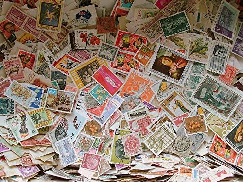 Internationale Briefmarken zum Sammeln, 500 Stück
