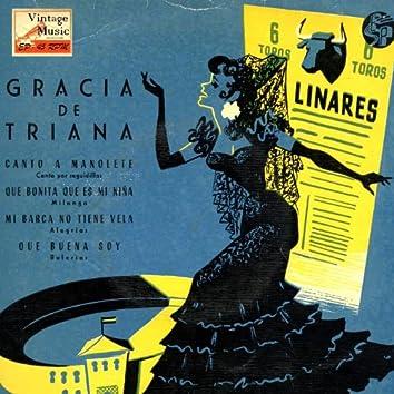 "Vintage Flamenco Cante Nº48 - EPs Collectors ""Canto A Manolete"""