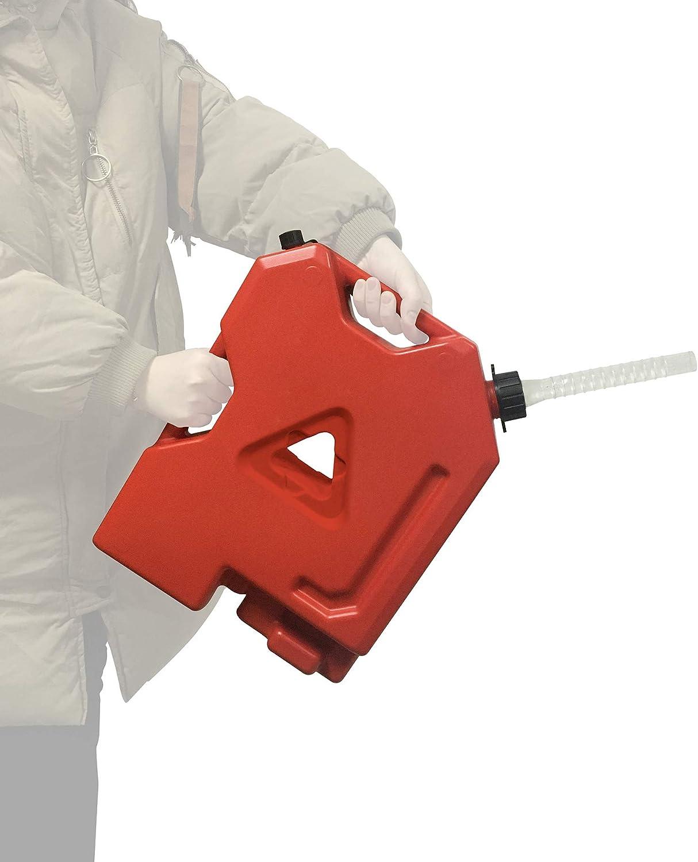 Import Max 66% OFF ACauto 2 Gallon Plastic Fuel Tank Oil Spill No Station Gasoline