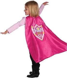 C.R. Gibson Pink 'Big Sister' Superhero Cape Children's Costume, 3pc, 22'' L