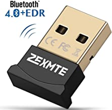 Bluetooth USB Adapter Low Energy Micro Adapter Bluetooth Dongle Receiver Transfer Wireless for PC Desktop Support Windows 10 8 7 Vista XP,Mouse and Keyboard,Headset
