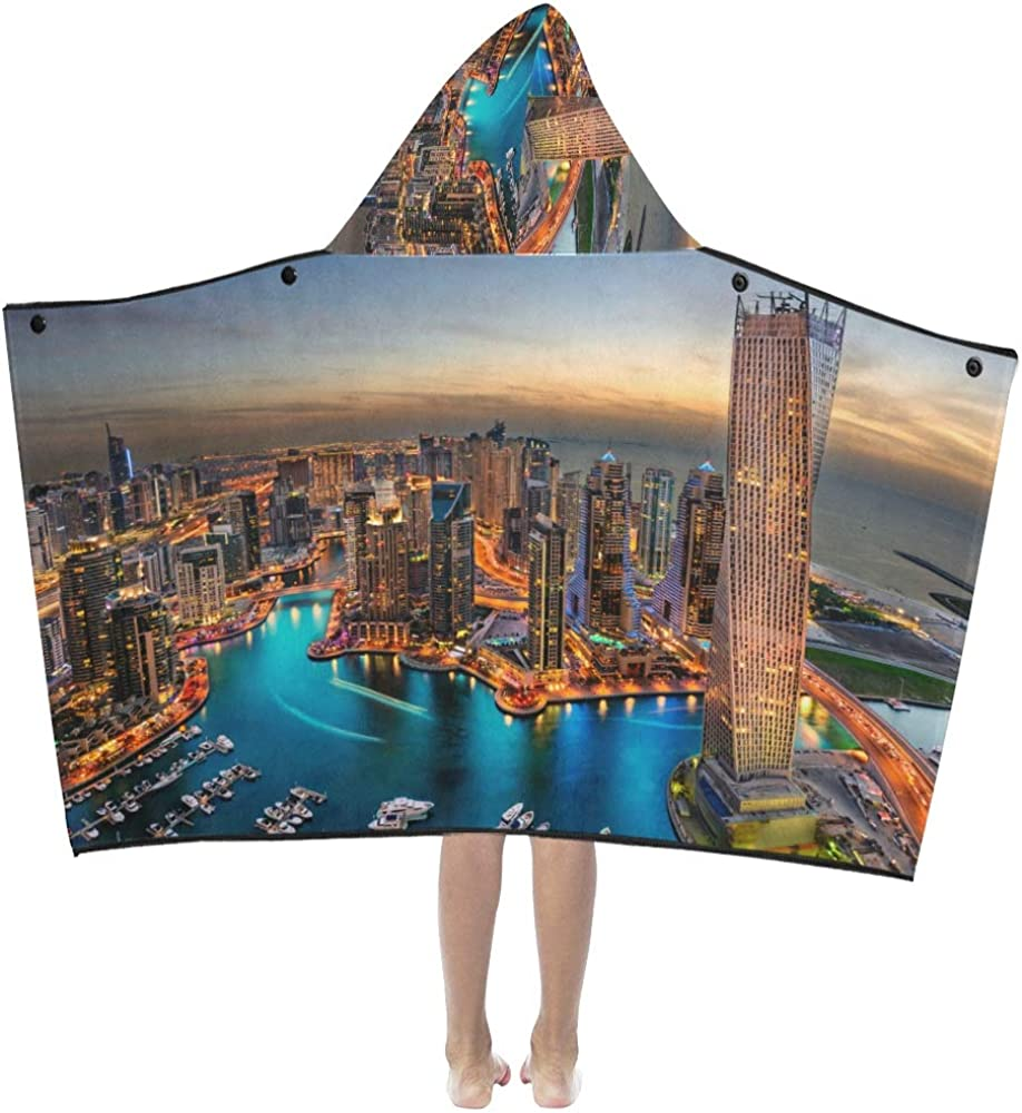WBSNDB Kids Bath Towel The Max 45% OFF High order Hooded Super Country Rich Dubai