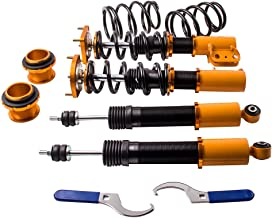 Performance Coilovers w/Camber Plates for Ford Mustang 1994-2004 4th Gen. SN95 Coil Spring Shock Struts Adj. Height & Mount