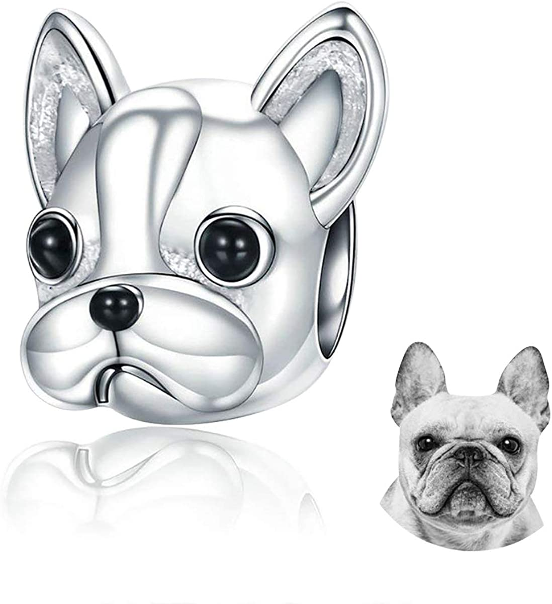 FOREVER QUEEN Dog Atlanta Mall 2021 spring and summer new Charm 925 Sterling Loyal Cute Silver Partners
