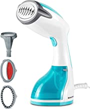 BEAUTURAL Steamer for Clothes with Pump Steam Technology, Portable Handheld Garment..