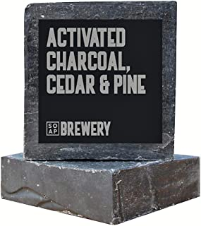 Soap Brewery Natural Men's Soap (Activated Charcoal,