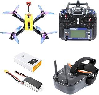 FEICHAO Owl215 Distancia Entre Ejes 215 mm FPV Racing Drone DIY RC Drone Quadcopter PNP BNF RTF con F4 Controlador de Vuelo 1200TVL Cámara FPV VTX (FPV Goggles Version)