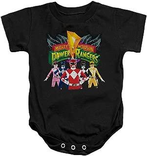 Power Rangers - Onsie Infant Snapsuit Rangers Unite