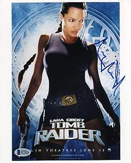 Angelina Jolie Tomb Raider Promo Signed 8x10 Photo Certified Authentic BAS COA
