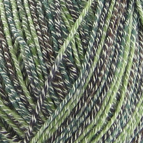 BambooMN Baby Weight Bamboo Fiber Yarn - 993 Mint Dark Chocolate - 2 Skeins
