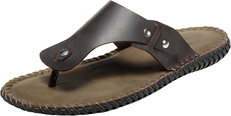 Unbox herrar herrar herrar utomhus Casual sommar Sandals Slippers Footbad gående strand Flip Flops skor  första gången svara