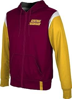 ProSphere Central Michigan University Men's Zipper Hoodie, School Spirit Sweatshirt (Tailgate)