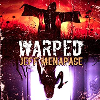 Warped audiobook cover art