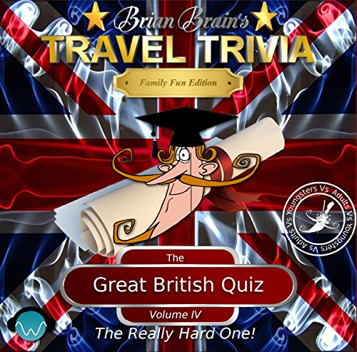 Brian Brain's Great British Quiz Vol IV - The Really Hard One cover art