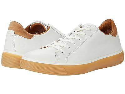 ECCO Street Tray Classic Sneaker (White/Cashmere) Men
