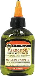 Difeel Premium Mega Care Natural Hair Oil - Carrot Oil with Vitamins a and E 70 grams