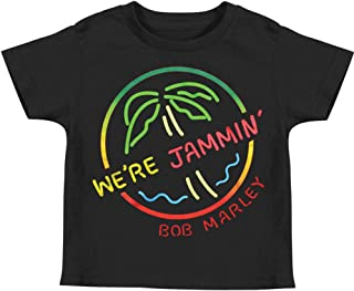 Boys' We're Jammin' Childrens T-Shirt Black