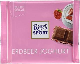 Ritter Sport Strawberry Yoghurt, 100 gm