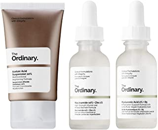 The Ordinary Facial Skincare Set! Azelaic Acid Suspension With Brightening Formula! Niacinamide Serum Reduces Skin Blemish...