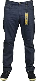 Kam Mens Latest King Size Stretch Chino Jeans Straight Leg 3 Colours Size 42-60
