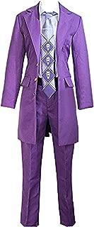 Halloween Kira Yoshikage Purle Jacket Outfits Costume-Made