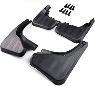 Front and Rear Mud Flaps Splash Guards Wheel Fender Mudguard Kit for Mercedes-Benz X204 GLK250 GLK280 GLK300 GLK350 2009-2015