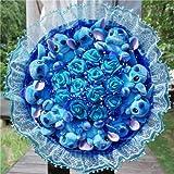 TYKCRt Belle Bande Dessinée Stitch Jouets en Peluche Stitch Bouquet avec des Fleurs Artificielles pour La Décoration De Fête De Mariage De La Saint-Valentin Gros Bouquet