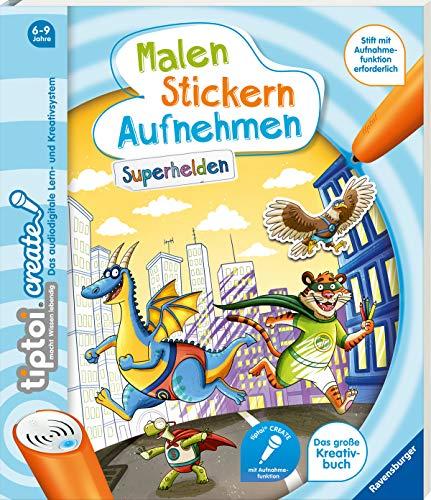 tiptoi® CREATE Malen Stickern Aufnehmen: Superhelden