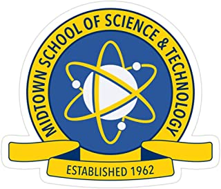 Big Lens store Midtown School of Science and Technology Logo Stickers (3 Pcs/Pack)