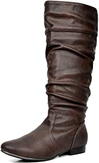Women's Knee High Boots (Wide-Calf)