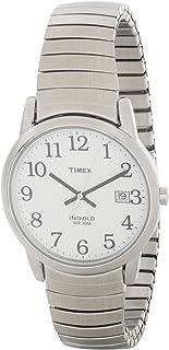 ساعة ايزي ريدر بسوار قابل للتمديد 35 ملم للرجال، طراز T2H451 من تايمكس