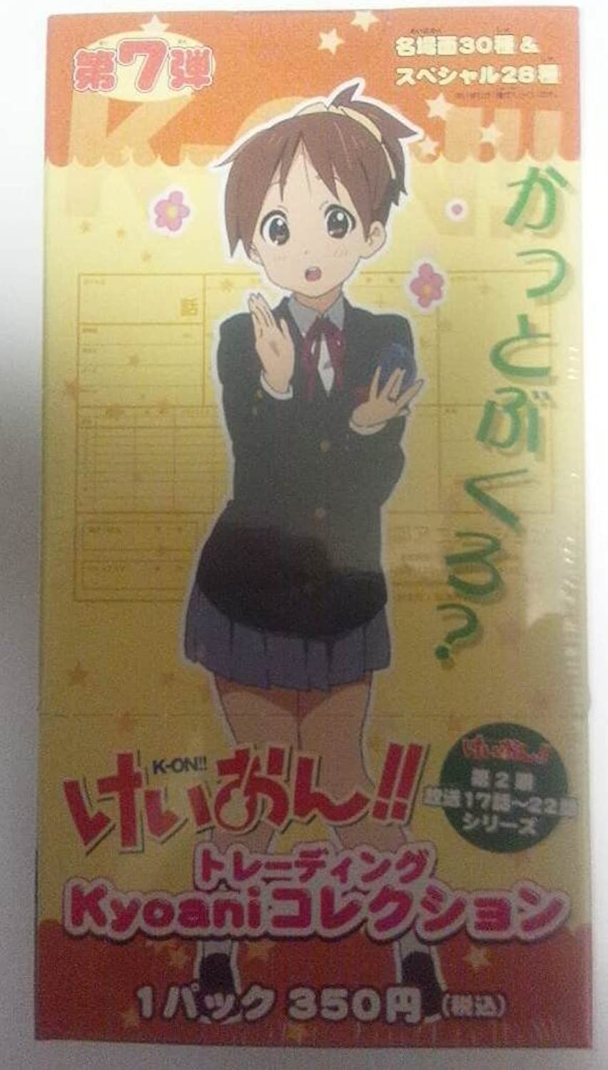 K-On  Kyoto Anitoreka [7] bullet (1BOX) K-ON trading card (japan import)