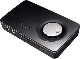ASUS Xonar U7 MKII USB - Tarjeta de Sonido (24 bit, 114 dB, 110 dB, 0,0006%, 10-46000 Hz, USB)