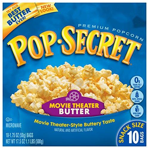 Best Deals! Pop Secret Popcorn, Snack Size Movie Theater Butter, 10-Count Box