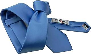 Avantgarde Completo abbinato uomo cravatta e fazzoletto tinta unita prodotto italiano slim e normale tutti i colori