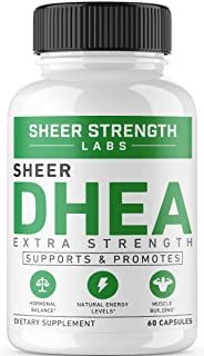 Extra Strength DHEA 100mg Supplement for Muscle Building & Hormone Balance –..