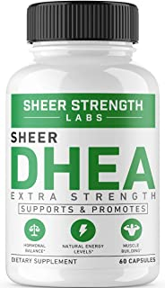Extra Strength DHEA 100mg Supplement for Muscle Building & Hormone Balance - Supports Natural Energy Levels - Promotes Hea...