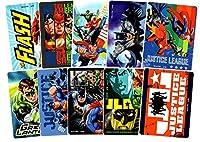 ALLSTAR. DC comics ジャスティスリーグ ステッカー シール 10枚セット