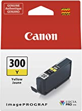 Canon PFI-300 Lucia PRO Ink, Yellow, Compatible to imagePROGRAF PRO-300 Printer