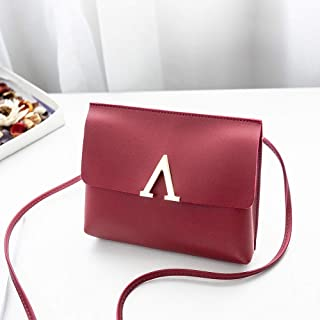 Wultia - Bags for WAMEN XCandy Color One Shoulder Small Messenger Bag Mobile Phone Bag Purse Bolsa Feminina Red