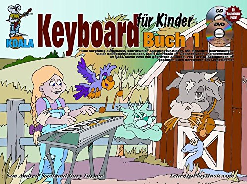 Keyboard für Kinder (Buch/CD/DVD/Poster)