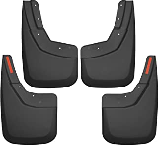Husky Liners Fits 1999-07 Silverado//Sierra 1500 1999-07 Chevrolet Silverado//GMC Sierra 2500//3500 without OEM Fender Flares or Cladding Custom Front Mud Guards