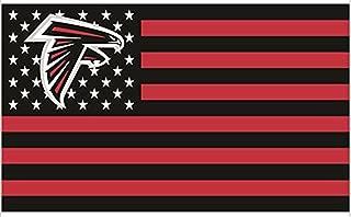 Atlanta Falcons 3x5FT Stars and Stripes Flag Falconsnation