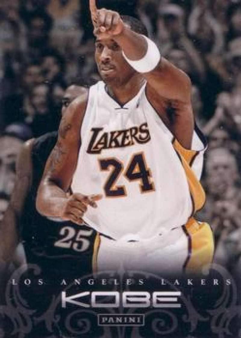 2012-13 Panini Kobe Anthology SEAL limited product Tulsa Mall Basketball Bryant An Los #145
